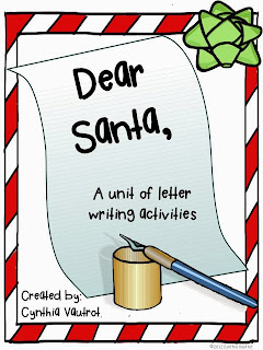 http://www.teacherspayteachers.com/Product/Dear-Santa-Letter-Writing-Activities-for-December-403786