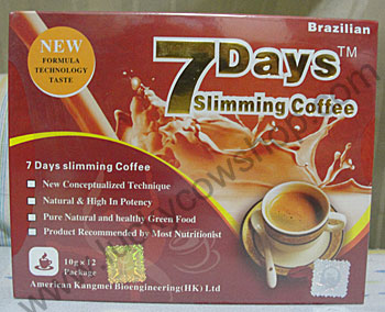 7days slimming coffee