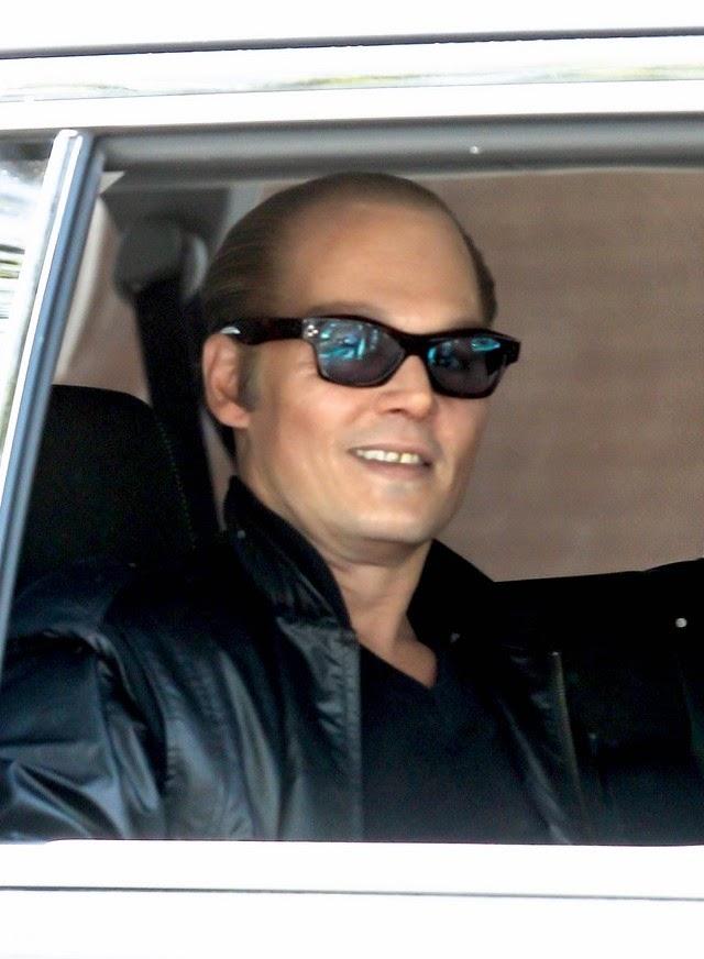 Johnny Depp con la cara de Jack Nicholson