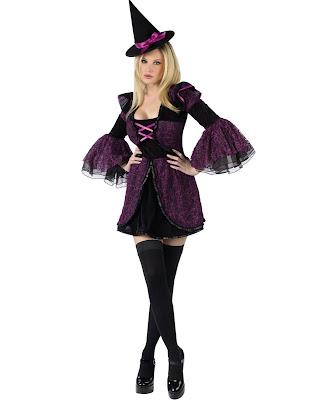 Disfraz de bruja sexy para halloween for Como pintarse de bruja guapa