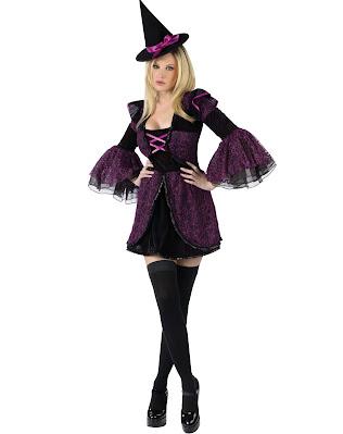 Disfraz de bruja sexy para halloween