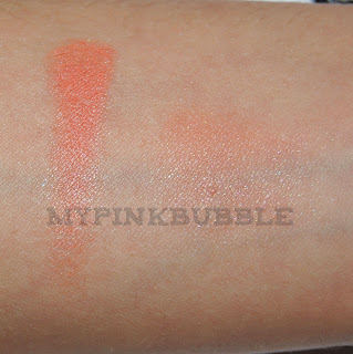Mememe colorete coral swatch