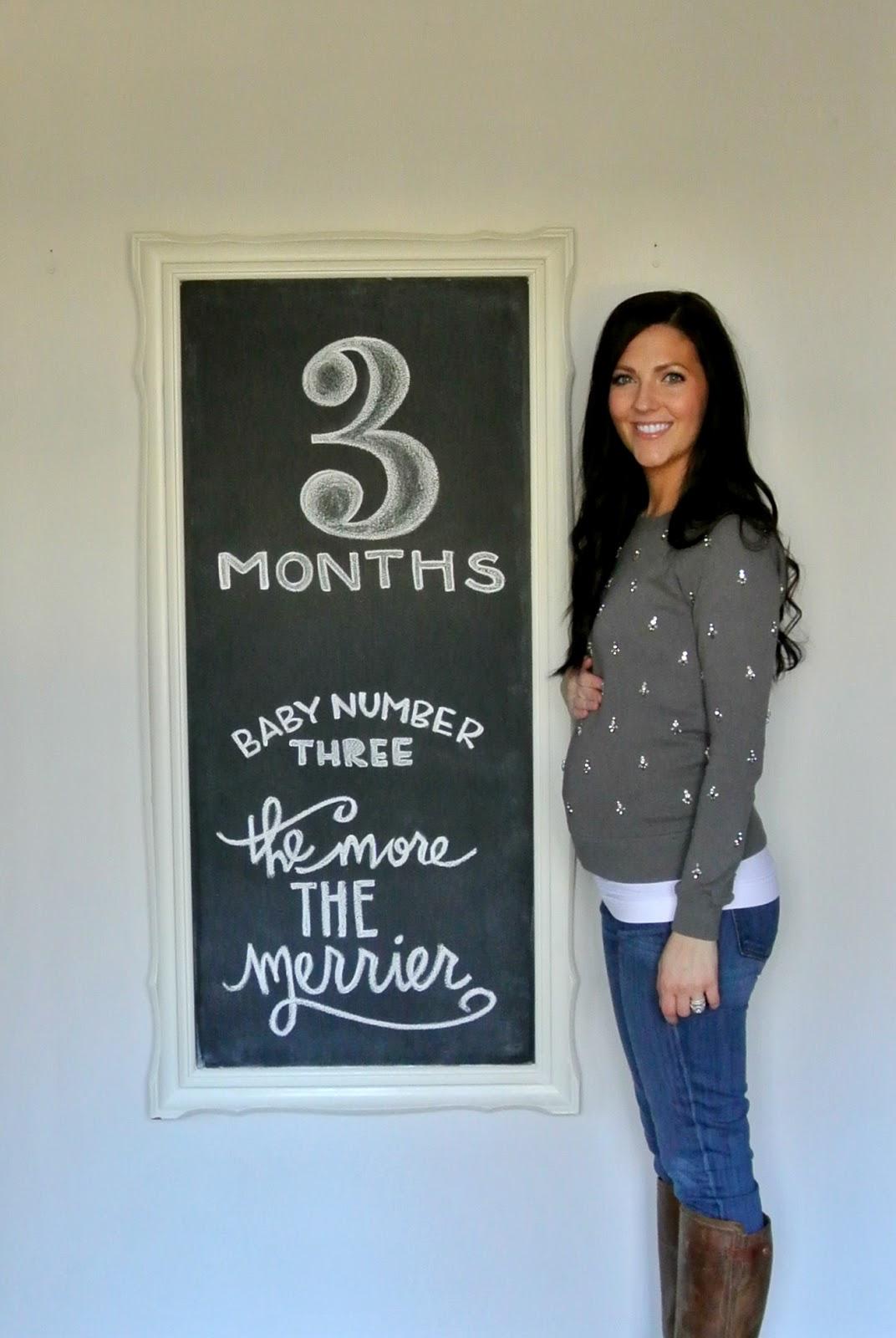 Three Month Bump