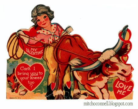 Strange and Funny Vintage Valentine Day Cards  Damn Cool Pictures