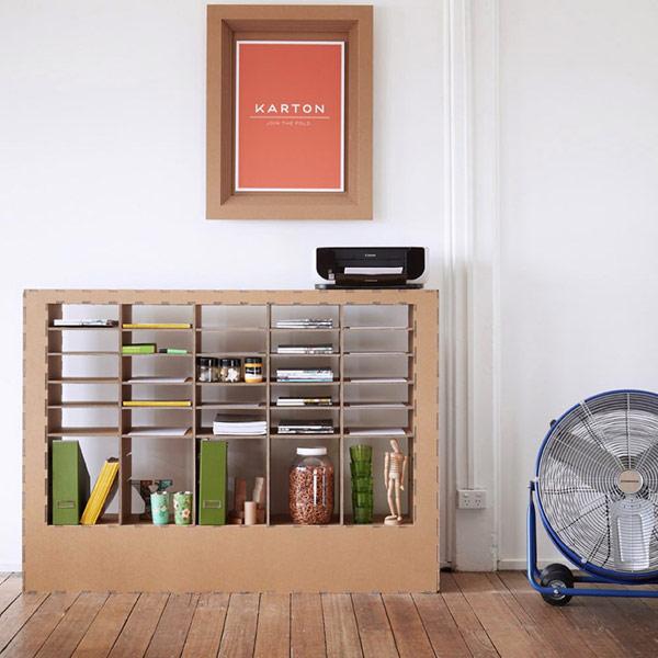 cuadros para decorar ambientes y muebles auxiliares para dividirlos