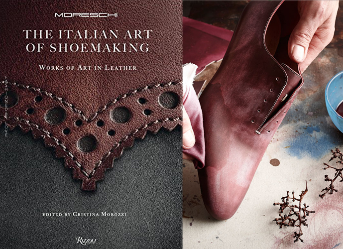Best new fashion books Winter 2016 / Moreschi, the italian art of shoemaking book  via www.fashionedbylove.co.uk