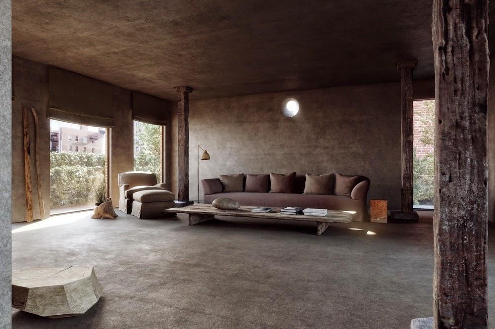 Heteruf designs axel vervoordt el gran maestro de la - Appartement de ville hotelier vervoordt ...