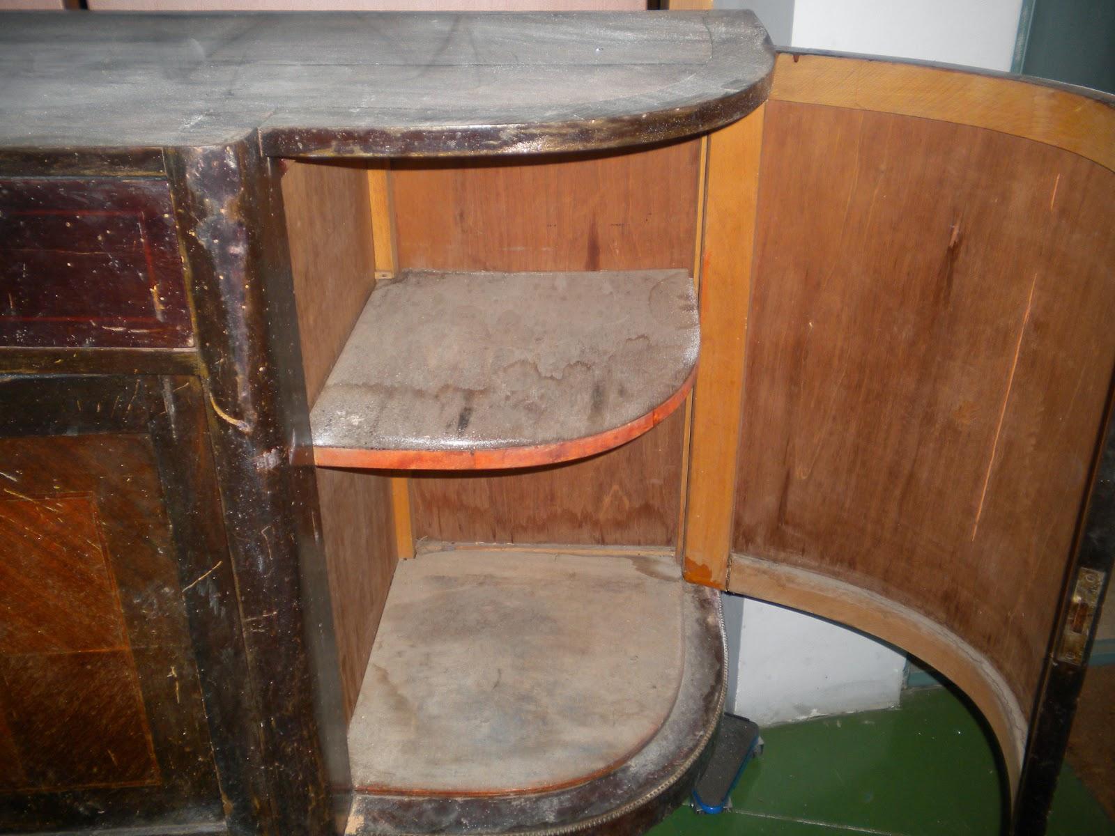 Taller de restauraci n lila ideas de c mo restaurar un - Fotos de muebles antiguos ...