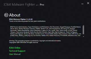 IObit Malware Fighter PRO 2.1.0.18 Plus Serial
