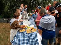 Entrepans de pa amb tomàquet, cansalada i botifarra
