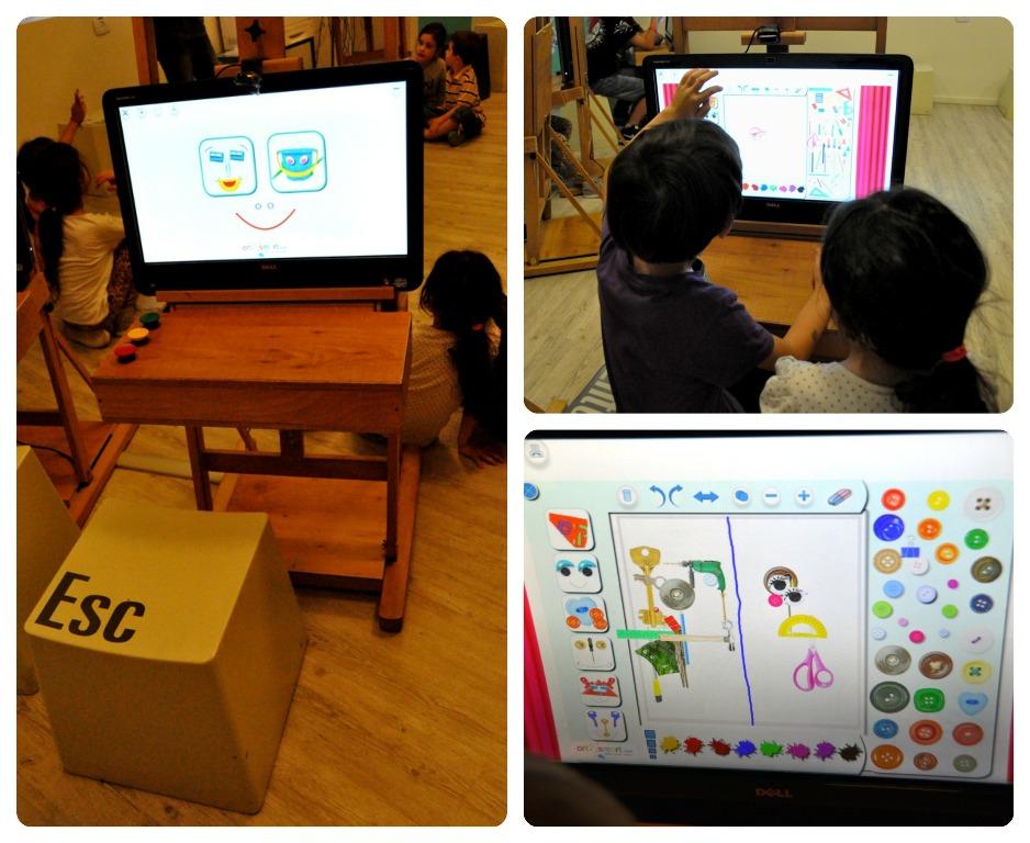 תערוכת התחברנו במוזיאון הילדים בחולון