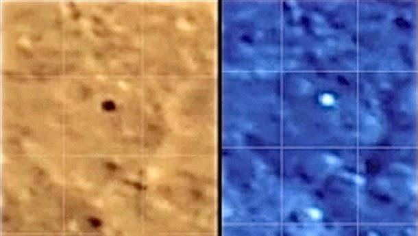 OVNI filmado a voar acima da superfície da Lua (com videos)
