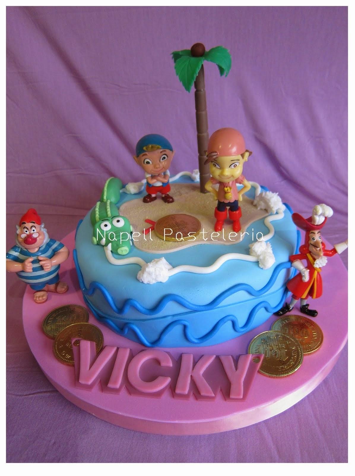Torta Izzie Pirata