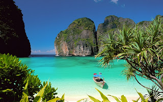 Thai beach picture