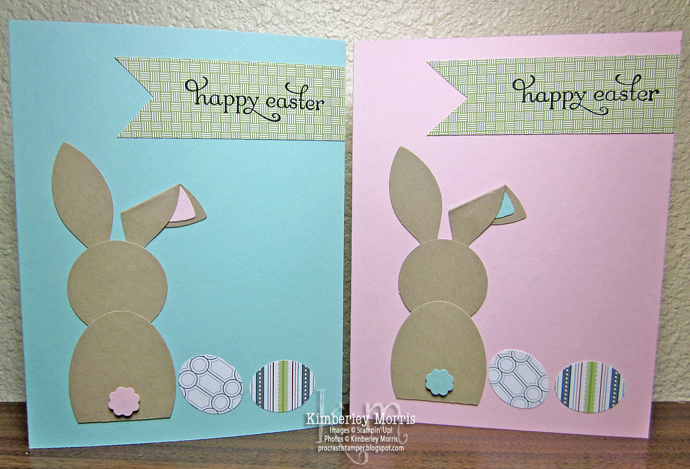 procrastistamper bunny punch art twitterpated easter cards