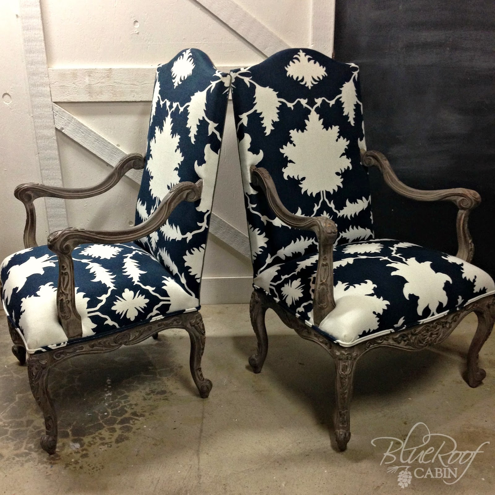 I Like These Chairs So Much I Named Them. These Were A Recent Client  Project. I Have Been Crushing On This Fabric For Quite Some Time Now.