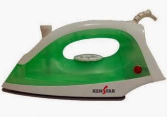 Flipkart: Buy Kenstar Super Shiney Steam Iron at Rs.708