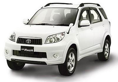 Spesifikasi dan Harga Toyota Rush Terbaru
