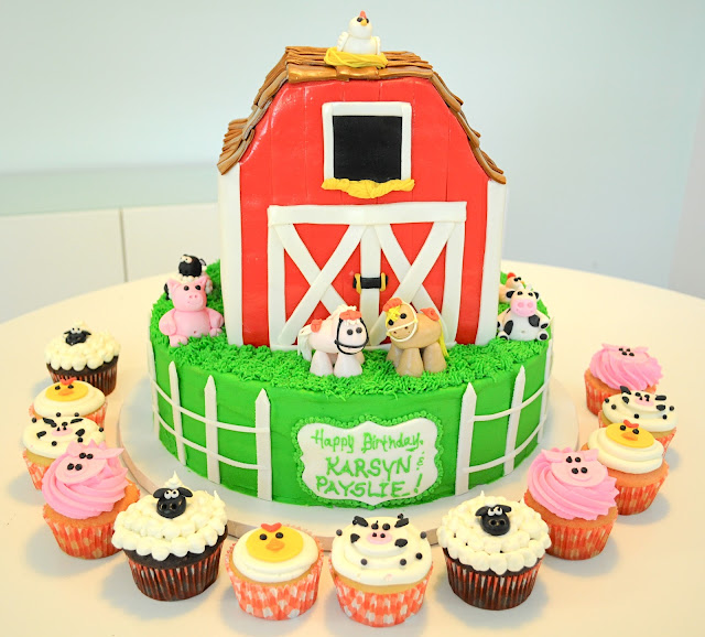 how to make a barn cake