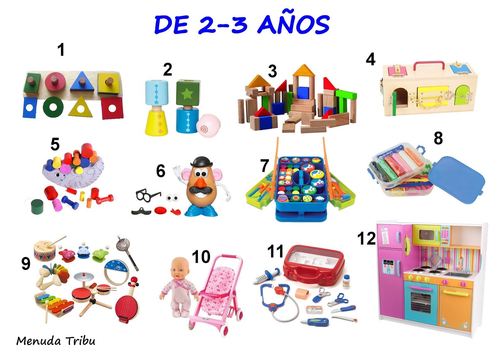 Menuda Tribu: Ideas de juguetes para niños de 0 a 4 años