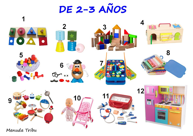 juegos para niños de 0-4 años Menuda Tribu