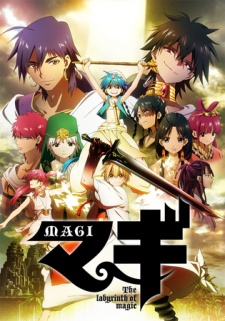 Magi - The Labyrinth of Magic - Episódios