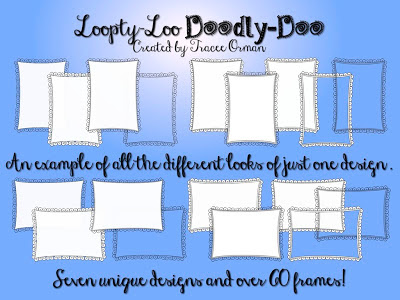 Doodle Frames Clipart Graphics http://www.teacherspayteachers.com/Product/Loopty-Loo-Doodly-Doo-Clip-Art-Frames-Commercial-Use