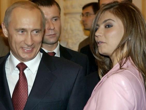 politisi terseksi Alina Kabaeva