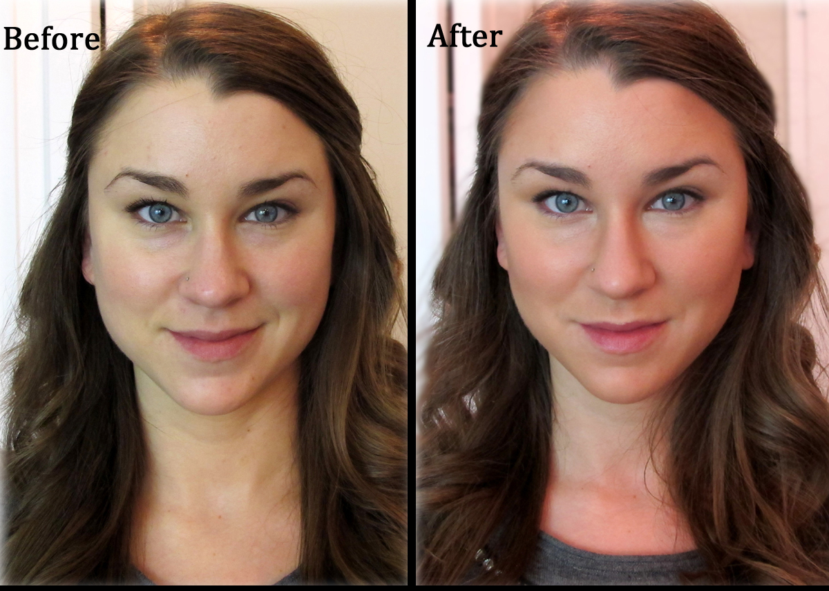 As You Can See, This Technique Makes Your Face Look Thinner And Helps To  Define The Contours Of Your Face!