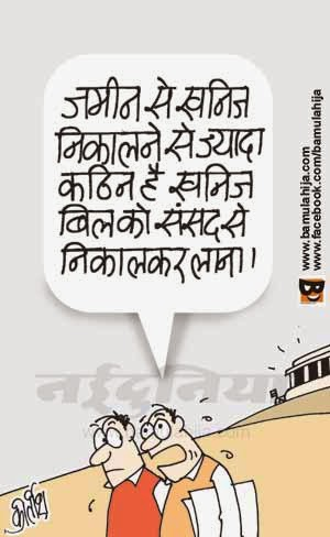 coalgate scam, parliament, bjp cartoon, opposition, cartoons on politics, indian political cartoon