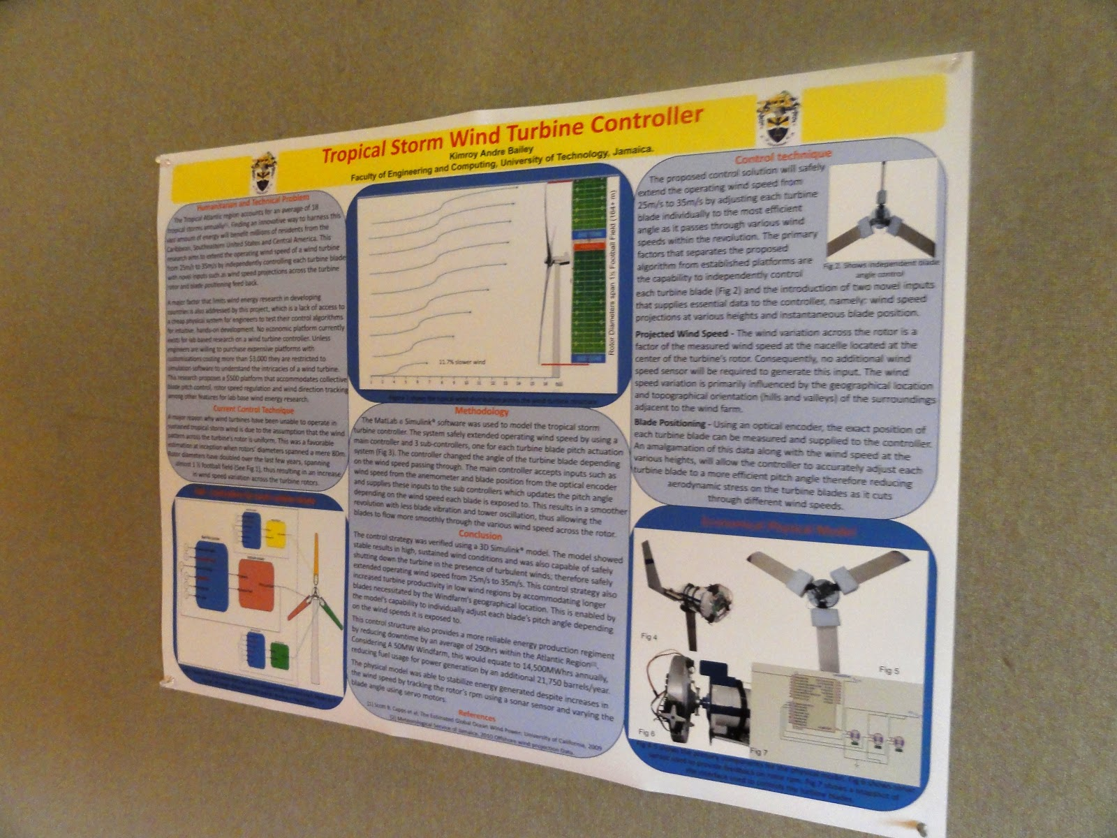 First Day of Poster Presentation Kimroy Bailey