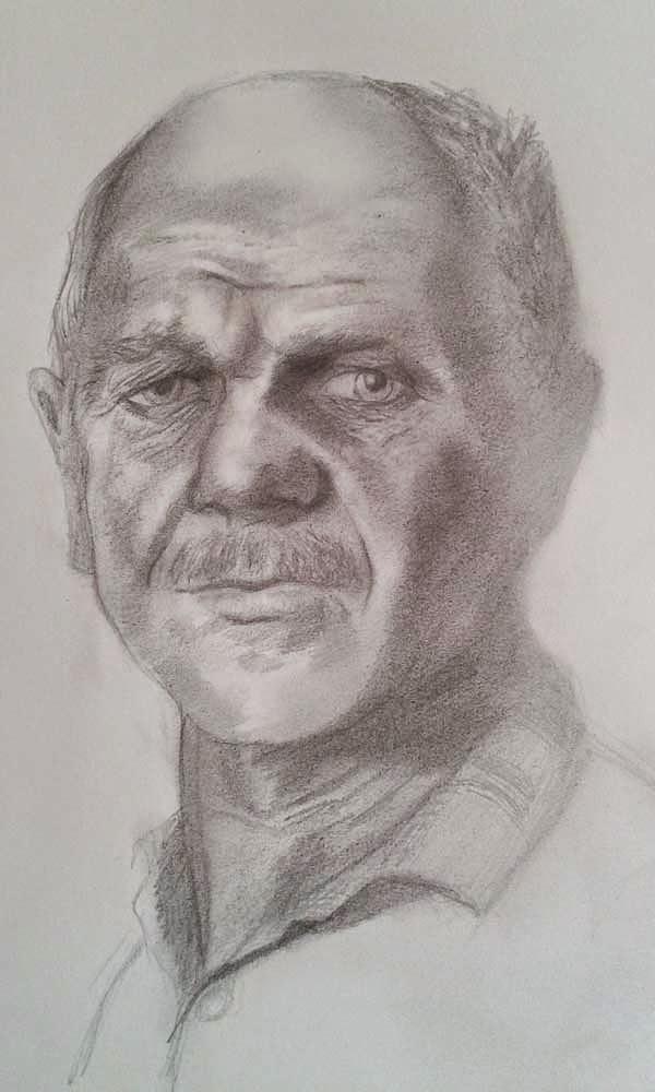 retrato de minero gonnord