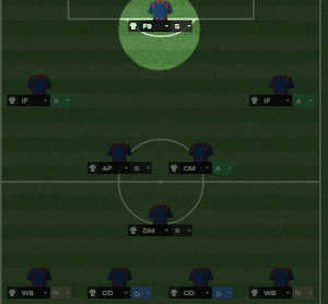 FM14 Player Role False Nine