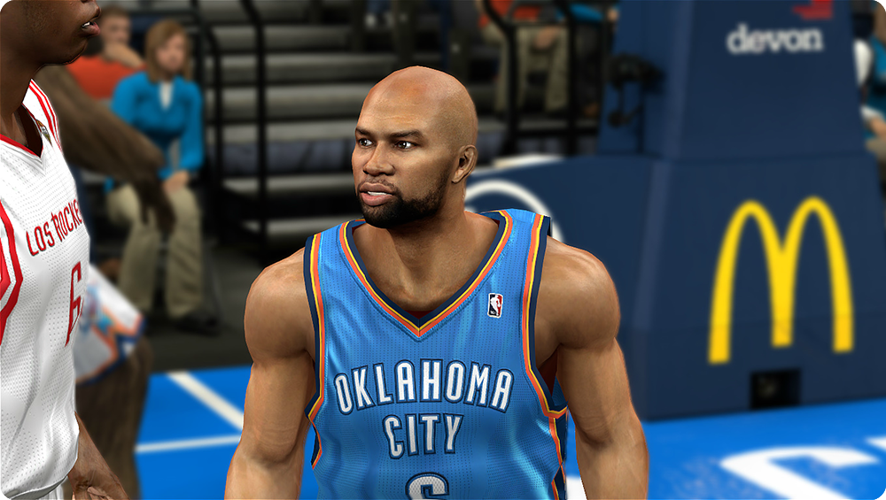 NBA2K Derek Fisher CF Beard Patch