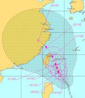 SAOLA (GENER) und DAMREY auf dem Weg nach Schanghai, Gener, Damrey, Saola, aktuell, Satellitenbild Satellitenbilder, China, Japan, Philippinen, Taiwan, Taifunsaison 2012, Juli, 2012, Schanghai