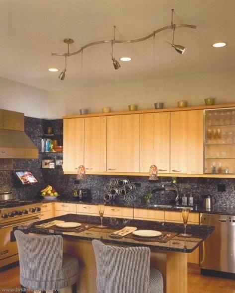 Ideas de iluminaci n para cocinas c mo dise ar cocinas - Luces para cocina ...