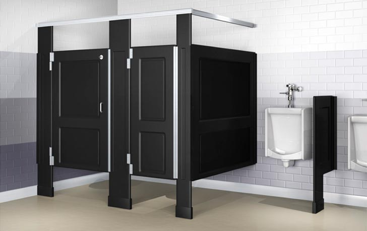 Cna specialties restroom partitions that are durable and for Bathroom partitions