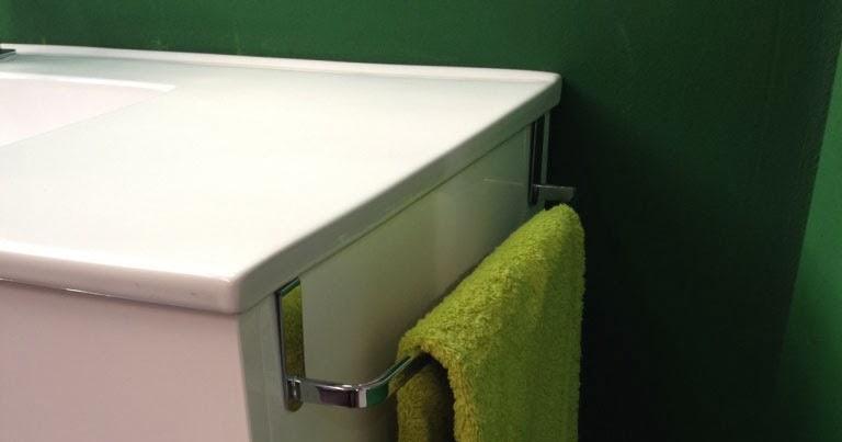 Toallero lateral mueble lavabo tu cocina y ba o for Pica lavabo