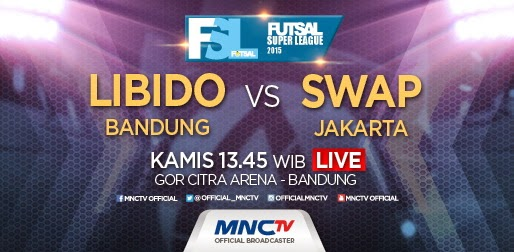Libido Bandung vs SWAP Jakarta Futsal Super League (FSL) 2015