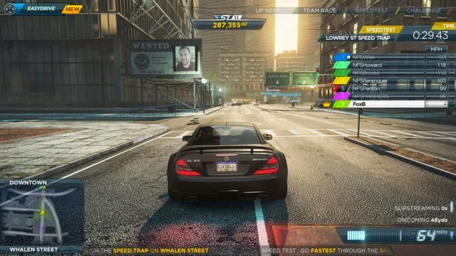 Playing NFS Most Wanted 2012 PC Games