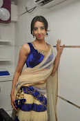 Sanjjana Latest Glam pics in saree-thumbnail-4
