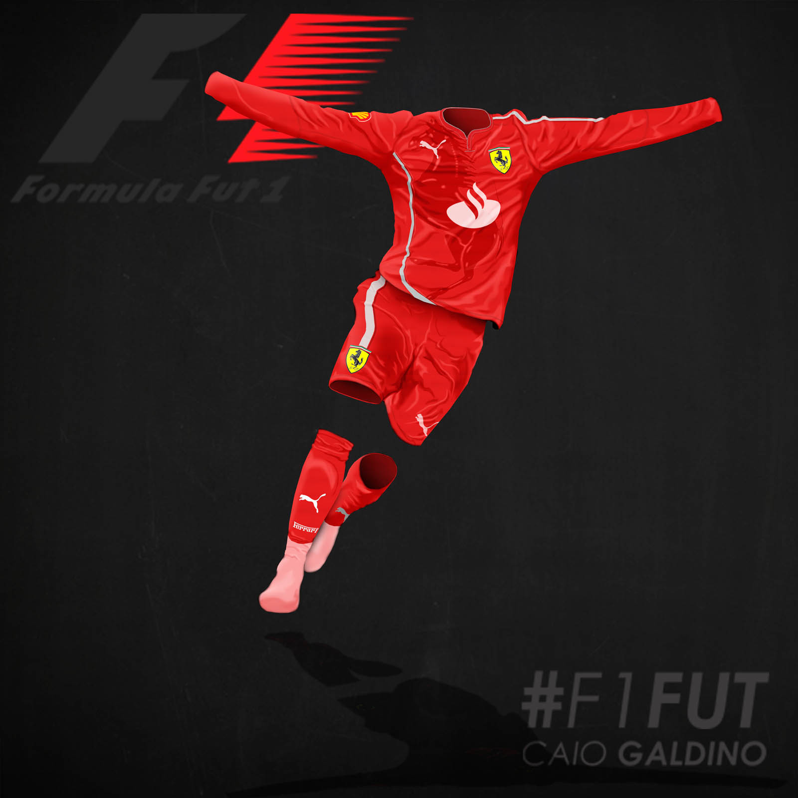 Formula 1 Concept Football Kits By Caio Galdino Footy