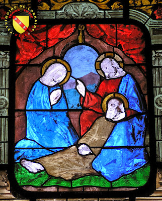 BOUVRON (54) - L'église paroissiale Saint-Mansuy