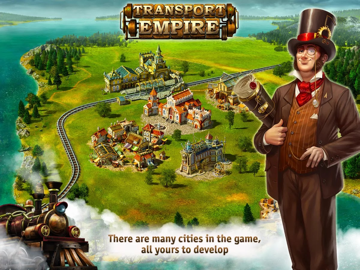 Transport Empire - Tycoon v1.04.01 Mod [Unlimited Money]