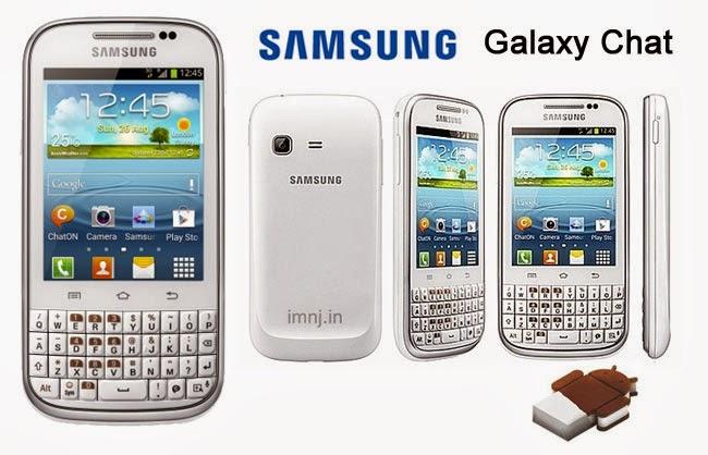 Fitur dan Spesifikasi Galaxy Chat GT-B5330