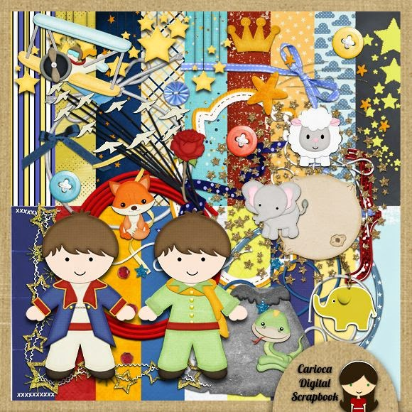 Cute Little Prince Clipart.