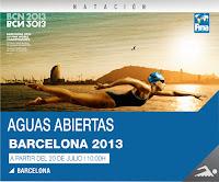 NATACIÓN AGUAS ABIERTAS-Mundial Barcelona 2013