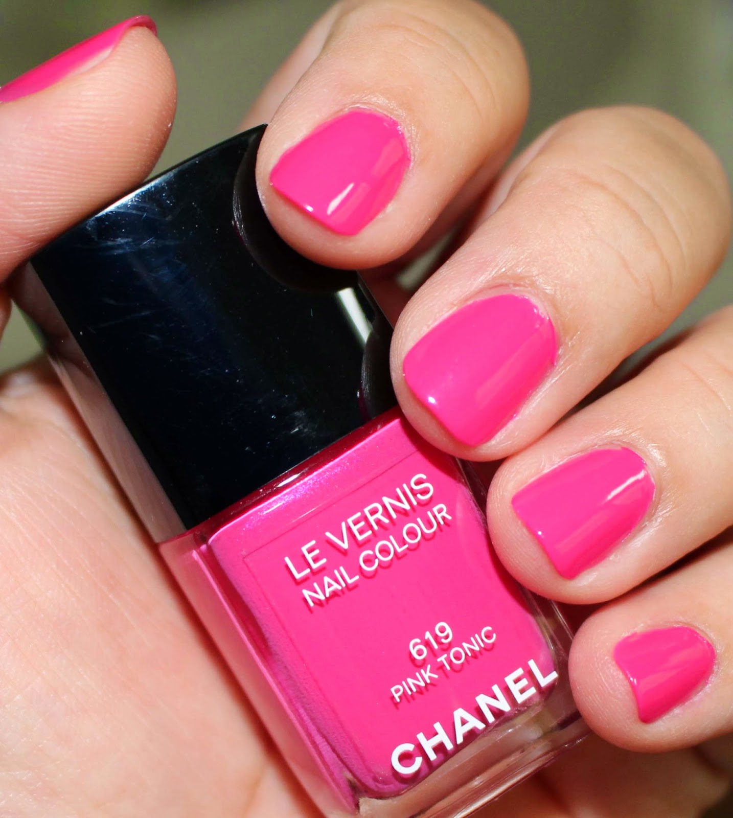 Pondering Beauty: Chanel Le Vernis Nail Colour in 619 Pink Tonic