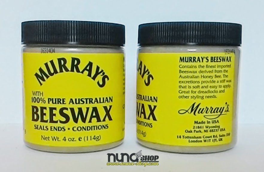 Pomade Murrays Natural Beeswax