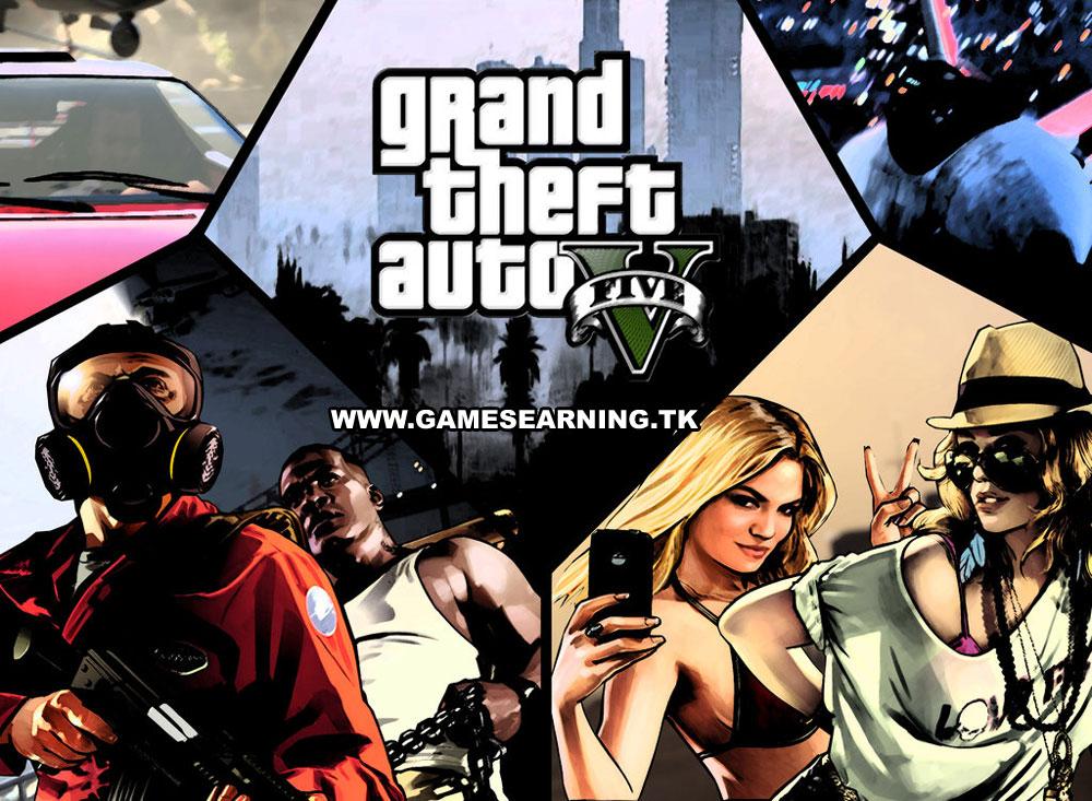 GTA 5 PC Download - Grand Theft Auto V Free Download
